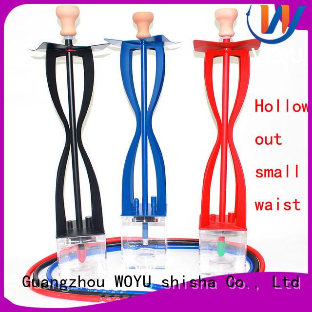 WOYU acrylic shisha manufacturer for pastime