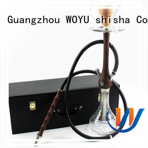 WOYU wooden shisha factory for smoker
