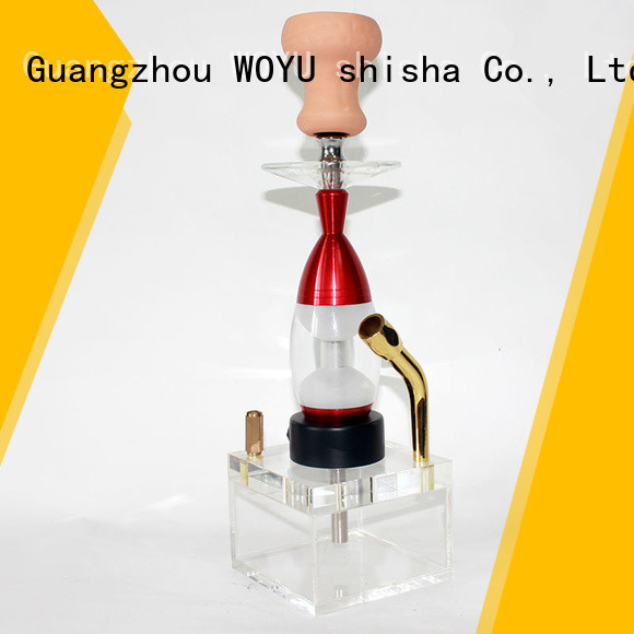 WOYU acrylic shisha one-stop services for party
