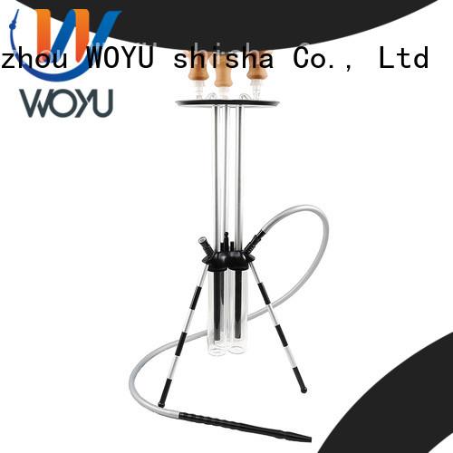 WOYU aluminum shisha factory for smoking