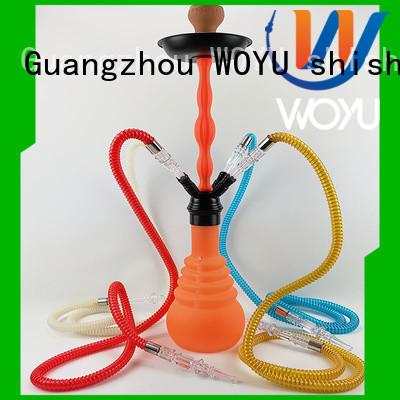WOYU new silicone shisha factory for smoker