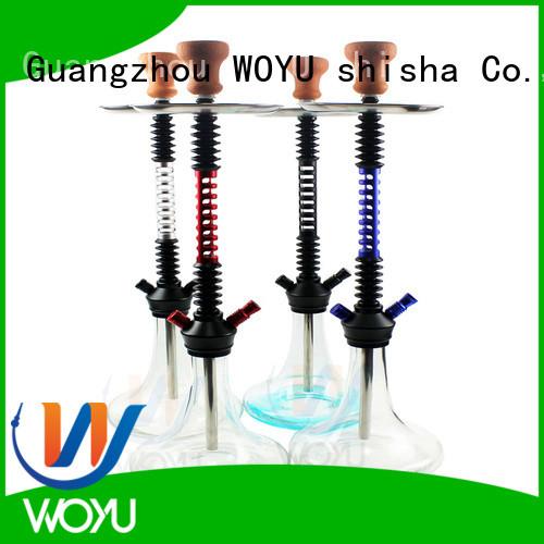 WOYU custom aluminum shisha manufacturer for pastime