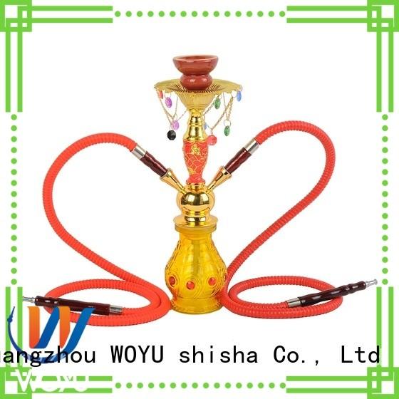 WOYU iron shisha supplier for pastime