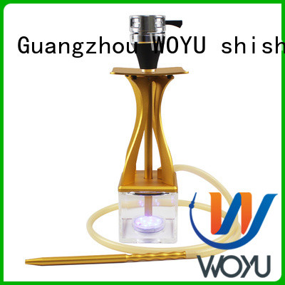 fashion acrylic shisha factory for pastime