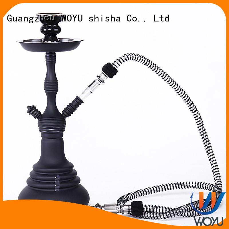 WOYU high quality zinc alloy shisha factory for sale
