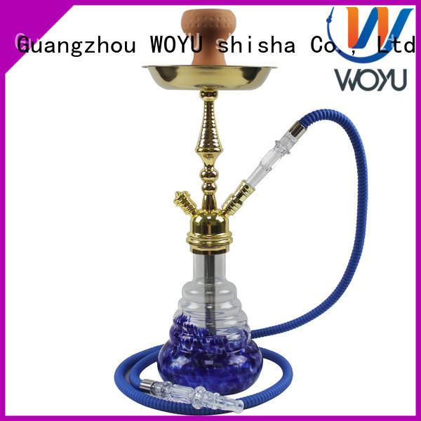 WOYU zinc alloy shisha factory for smoker