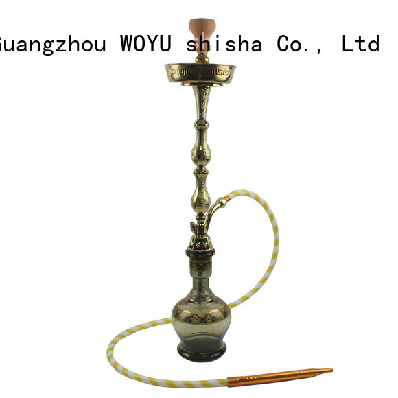 WOYU zinc alloy shisha factory for wholesale