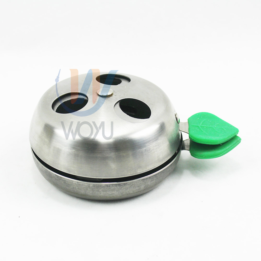 WY-kl018 good quality 304 SS stainless steel shisha accessories coal bowl charcoal holder bowl