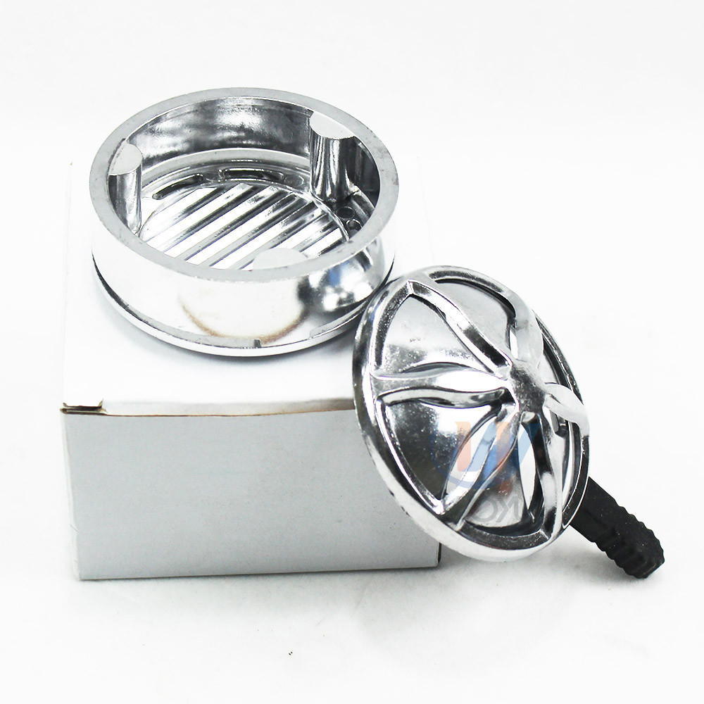 WY-kl008 leave coal holder aluminum shisha hookah narguile coal heating system holder