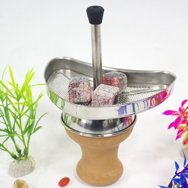 WY-CH003 accessories shisha glass hookah ss stainless steel coal holder
