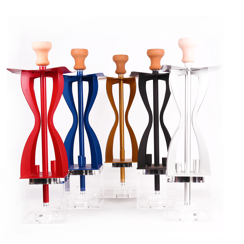 WY-3711 New Design Wholesale  Acrylic with LED light Hookah