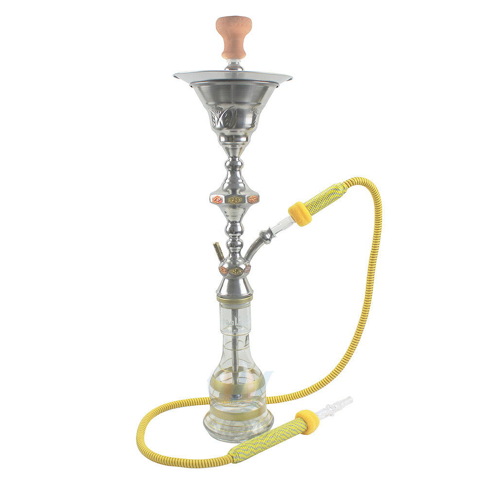 WY-SS0348 Shisha tobacco smoking Egyptian stainless steel hookah with ice chamber