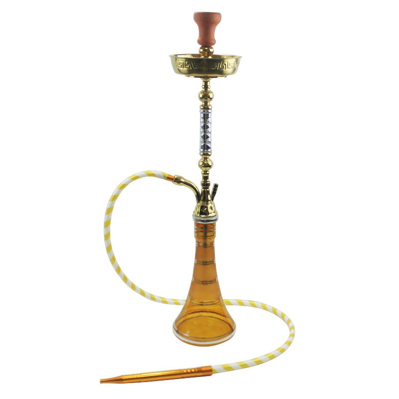 WY-east04 Arabian hookah shisha tall golden sheesha pipes