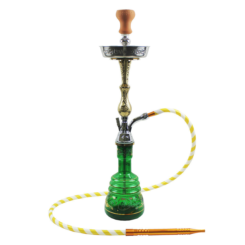WY-east36 colored glass vase Arab sheesha pipe hookah