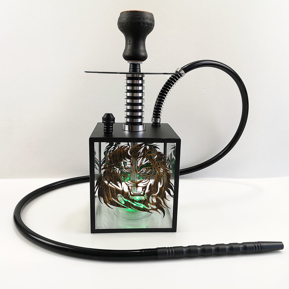 WY-AC105 Lion hookah shisha flavor nargle 40 cm height for bar