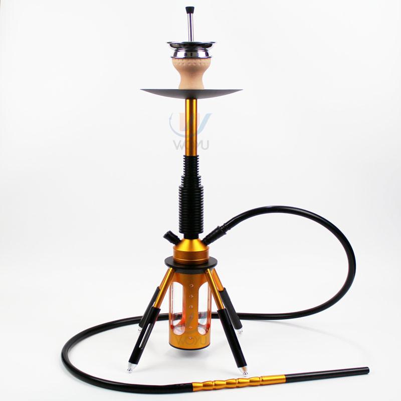 WY-SAL80 6 colors hookah 68cm glod shisha starbuzz hookah cachimba nice smoke with 4 legs