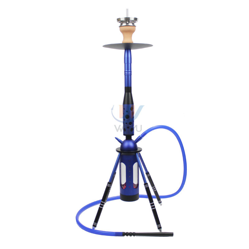 WY-SAL80B-led  Rocket hookah starbuzz shisha 4-leg smoking set with 1pipe whole set chicha