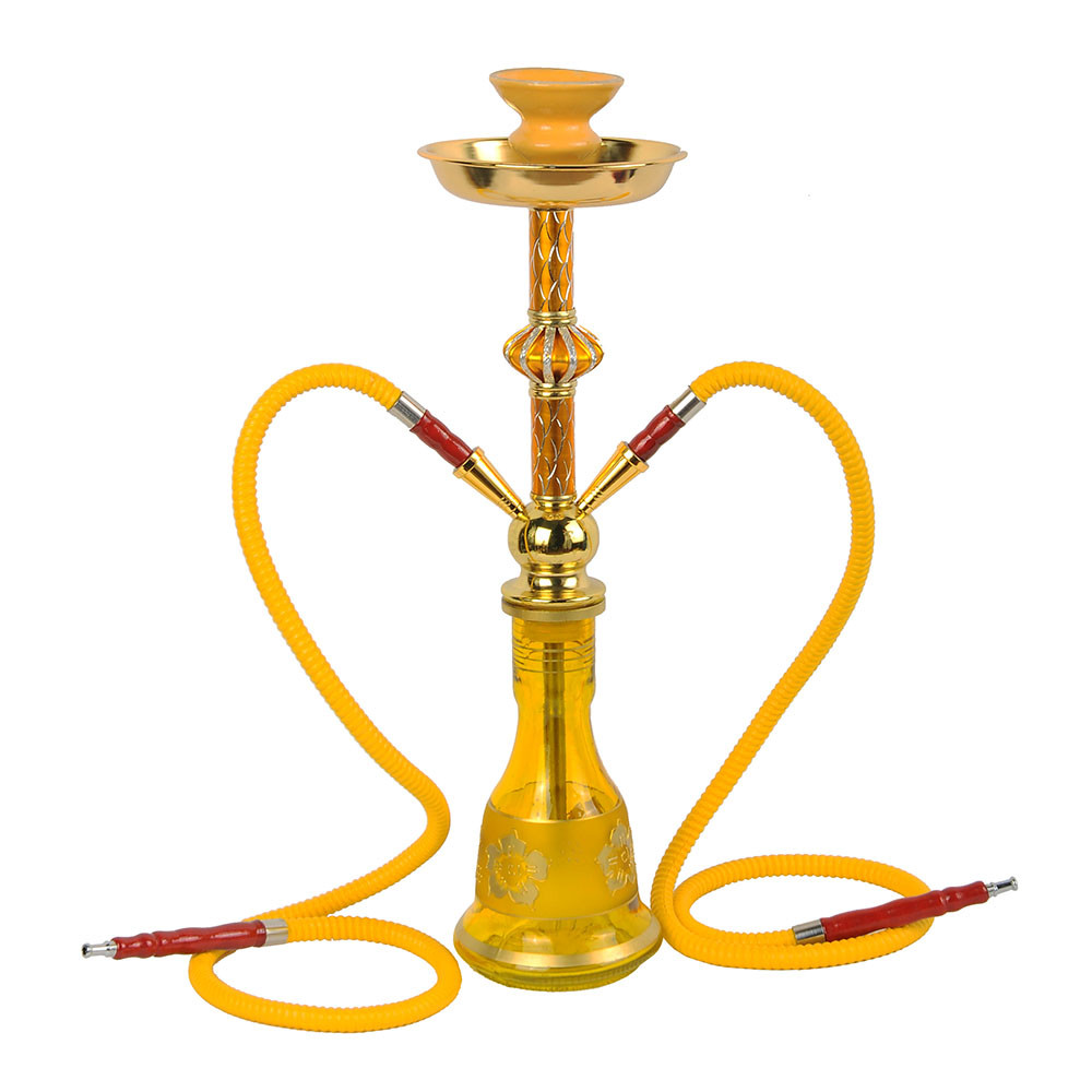 ZG-4012 Yellow hookah iron shisha good price narigile accesories shisha flavor