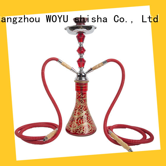 WOYU high standard iron shisha supplier for smoking