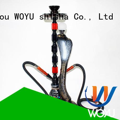 WOYU resin shisha manufacturer for pastime