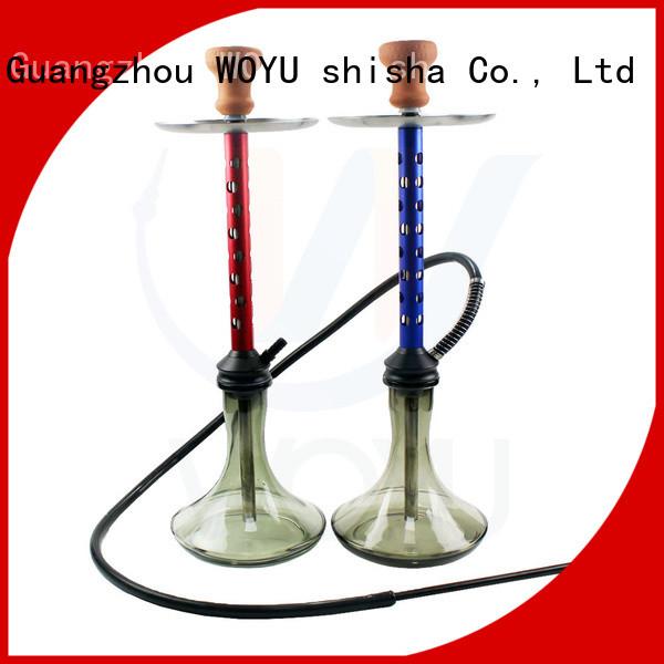 WOYU personalized aluminum shisha from China for bars