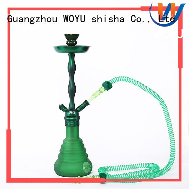WOYU high quality zinc alloy shisha manufacturer for wholesale