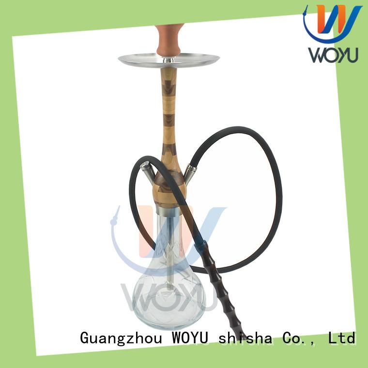 WOYU new wooden shisha factory for smoker