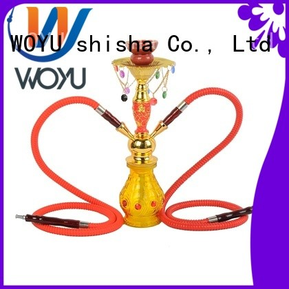 WOYU high quality iron shisha supplier for smoking
