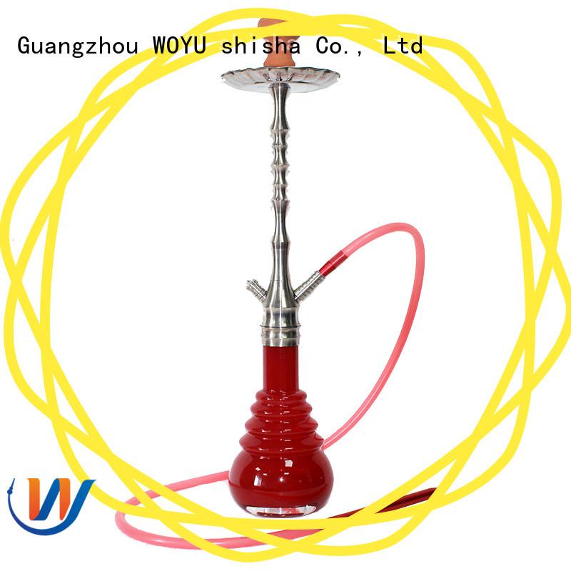 WOYU custom stainless steel shisha manufacturer for smoker