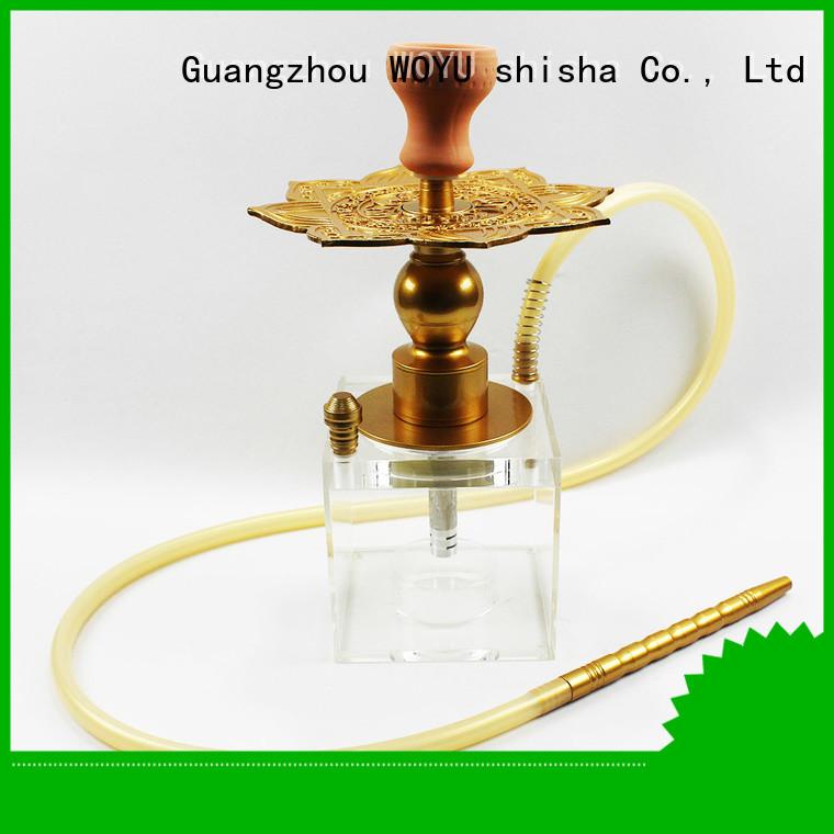 WOYU acrylic shisha wholesale for party