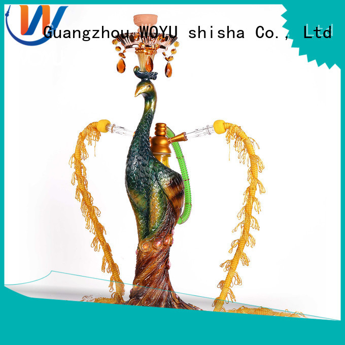 WOYU new resin shisha factory for smoking