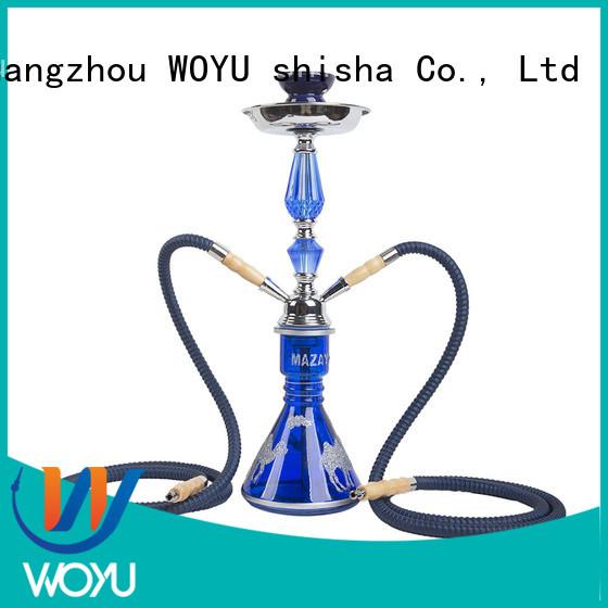 WOYU new iron shisha supplier for smoking