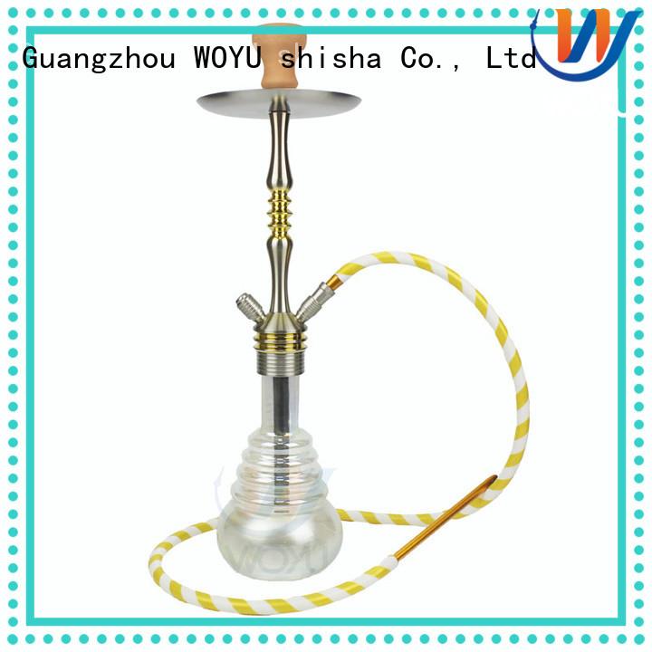 WOYU aluminum shisha manufacturer for pastime