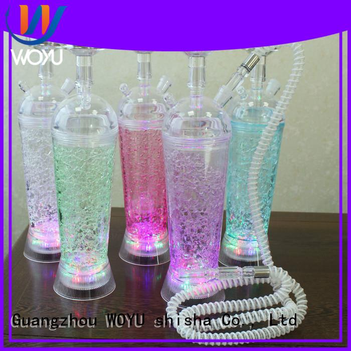 WOYU custom hokkah manufacturer for smoking