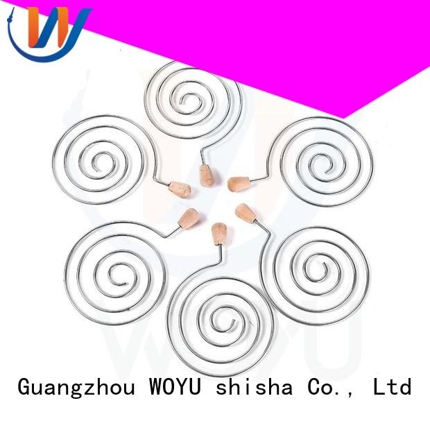 WOYU coal holder manufacturer for smoker