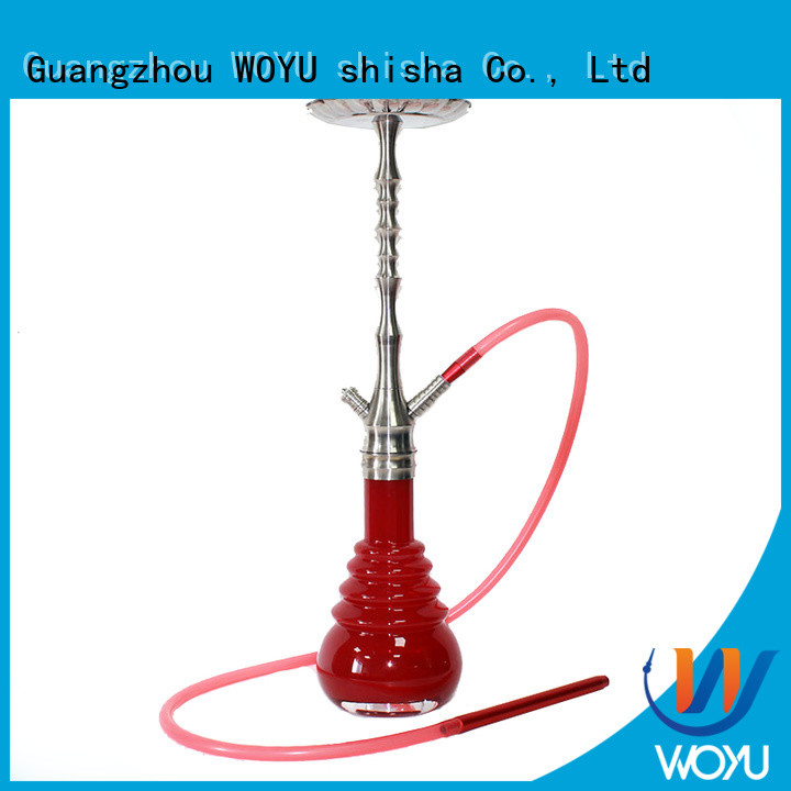 WOYU stainless steel shisha factory for smoking