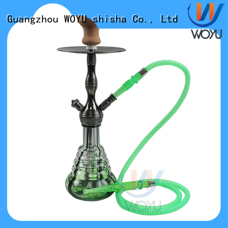 WOYU zinc alloy shisha supplier for sale