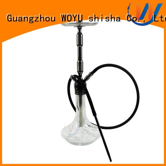 WOYU fashion aluminum shisha supplier for smoking
