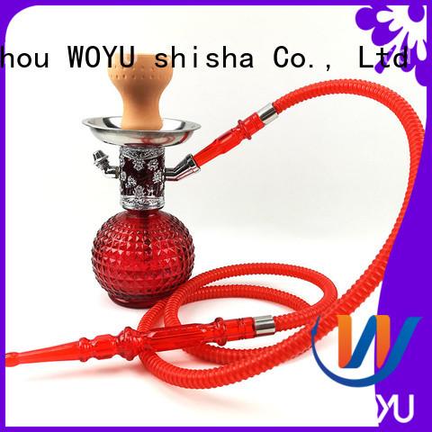 WOYU new zinc alloy shisha manufacturer for smoker