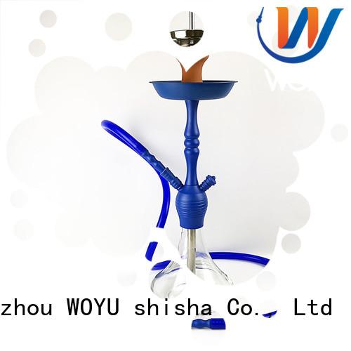 WOYU custom zinc alloy shisha factory for wholesale