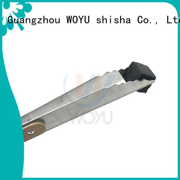 WOYU coal tong manufacturer for smoker