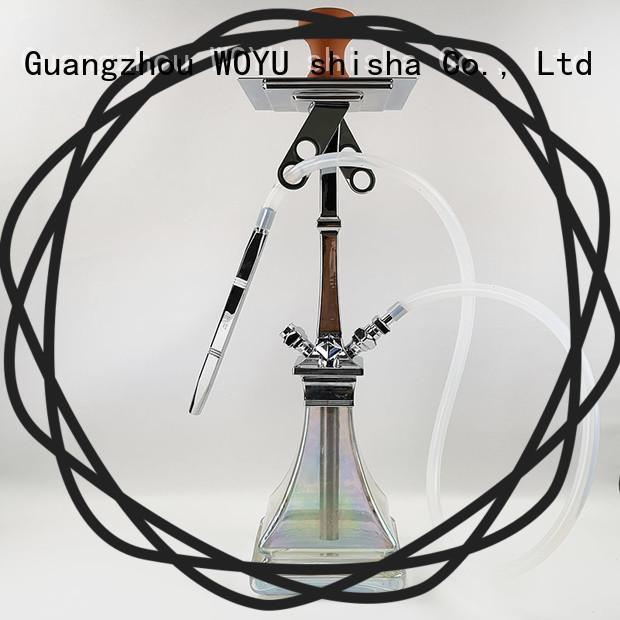 WOYU 100% quality zinc alloy shisha manufacturer for wholesale