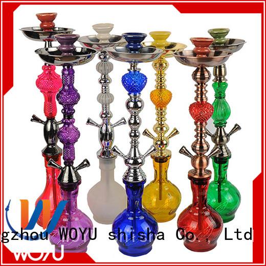 WOYU iron shisha factory for pastime