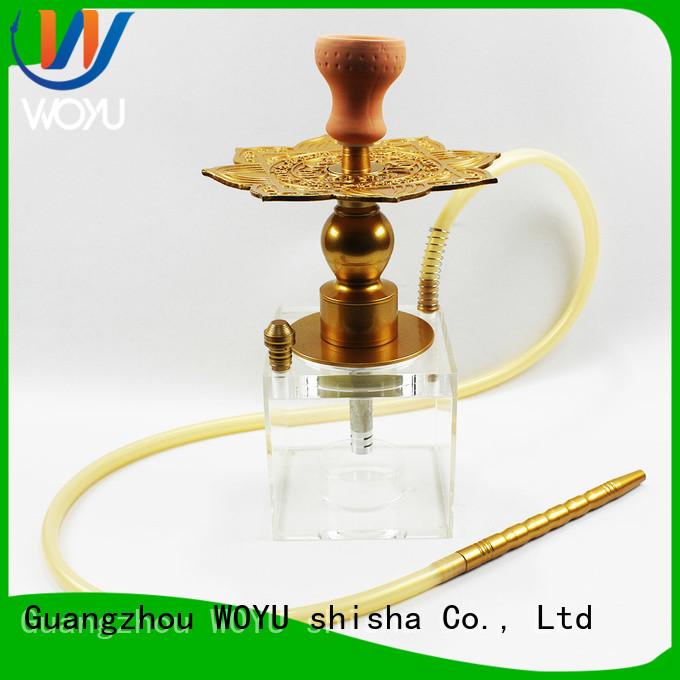 WOYU new acrylic shisha manufacturer for smoker
