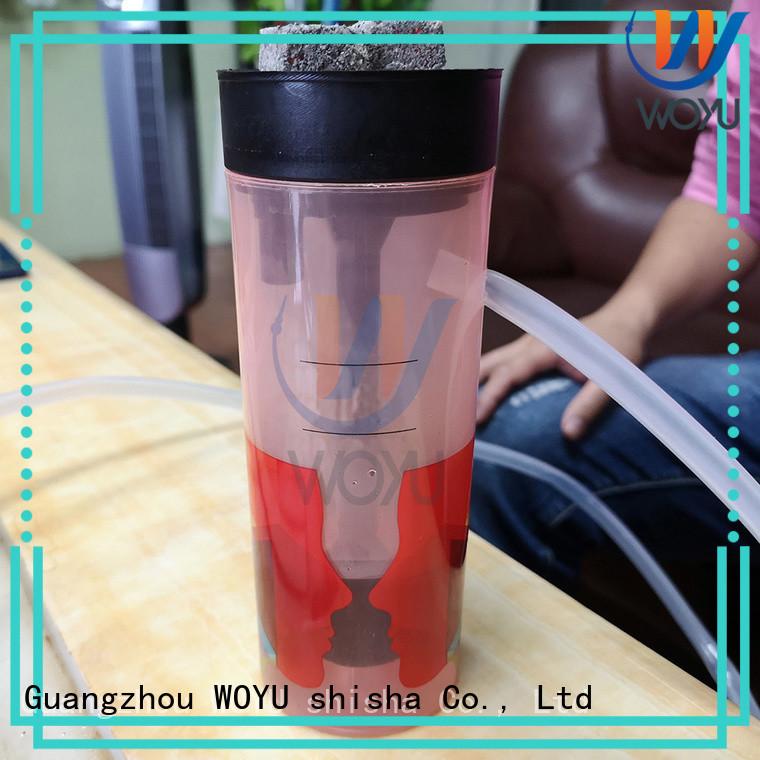 WOYU acrylic shisha supplier for smoker