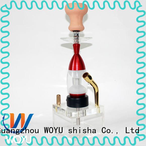 WOYU custom hokkah supplier for smoking