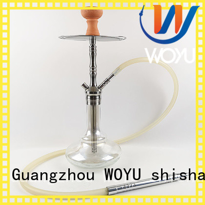 WOYU fashion stainless steel shisha factory for pastime