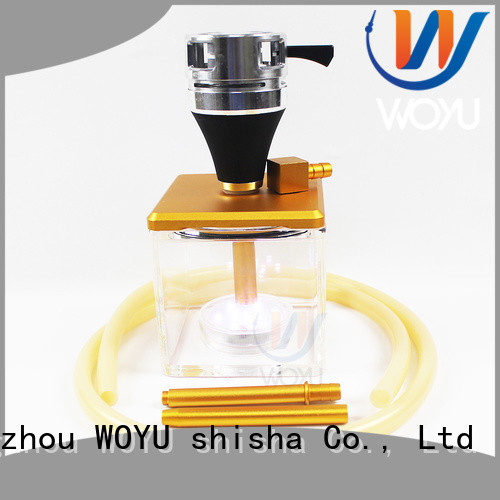 WOYU fashion acrylic shisha supplier for pastime
