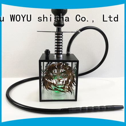 WOYU inexpensive acrylic shisha wholesale for clubs