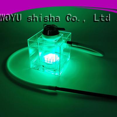personalized acrylic shisha wholesale for smoking